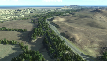 A9 Dualling Crubenmore to Kincraig - Fly through visualisation