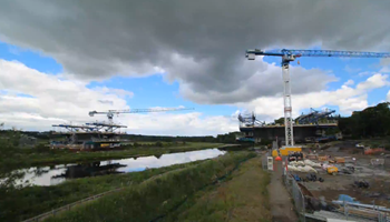 River Dee Crossing timelapse