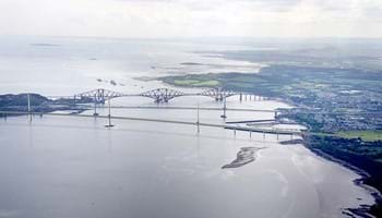 Queensferry Crossing artist's impression