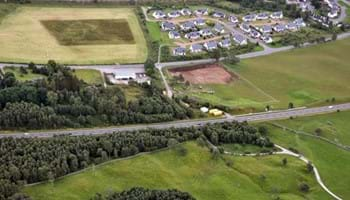A9 Kincraig –Dalraddy – Aerial View – Start of work Sep 2015