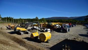 A9 Kincraig-Dalraddy Groundwork (Site Compound) – Sep 2015