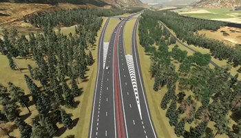 Community Preferred Route Visualisation - March 2019 - Pass of Birnam to Tay Crossing - A9 Dualling