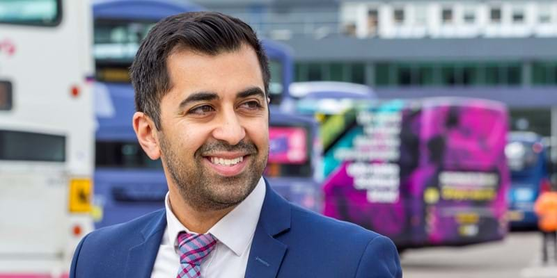 Humza Yousaf announces the Transport (Scotland) Bill