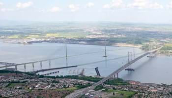Queensferry Crossing, artist's impression