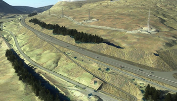 A9 Dualling - Glen Garry - Dalwhinnie - Preferred route visualisation